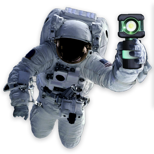 BODYLight, body light, portable LED work Light, astronaut, space-age, work light, explosion proof
