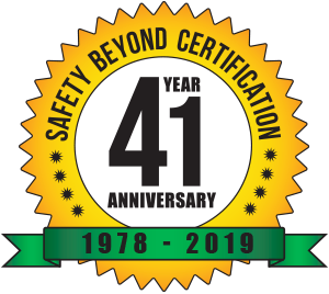 celebrating, safety beyond certification, 41 year, anniversary, 1978-2019, western technology