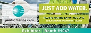 western technology, exhibitor, booth #1047, Pacific Marine Expo, 2019, seattle, wa, portable led work lights, marine, shipbuilding, shipyard
