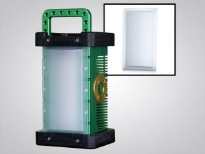 9610Roll Top AG, anti-glare, roll top, accessory, accessories, BRICK®, brick, 9610, portable explosion proof area light