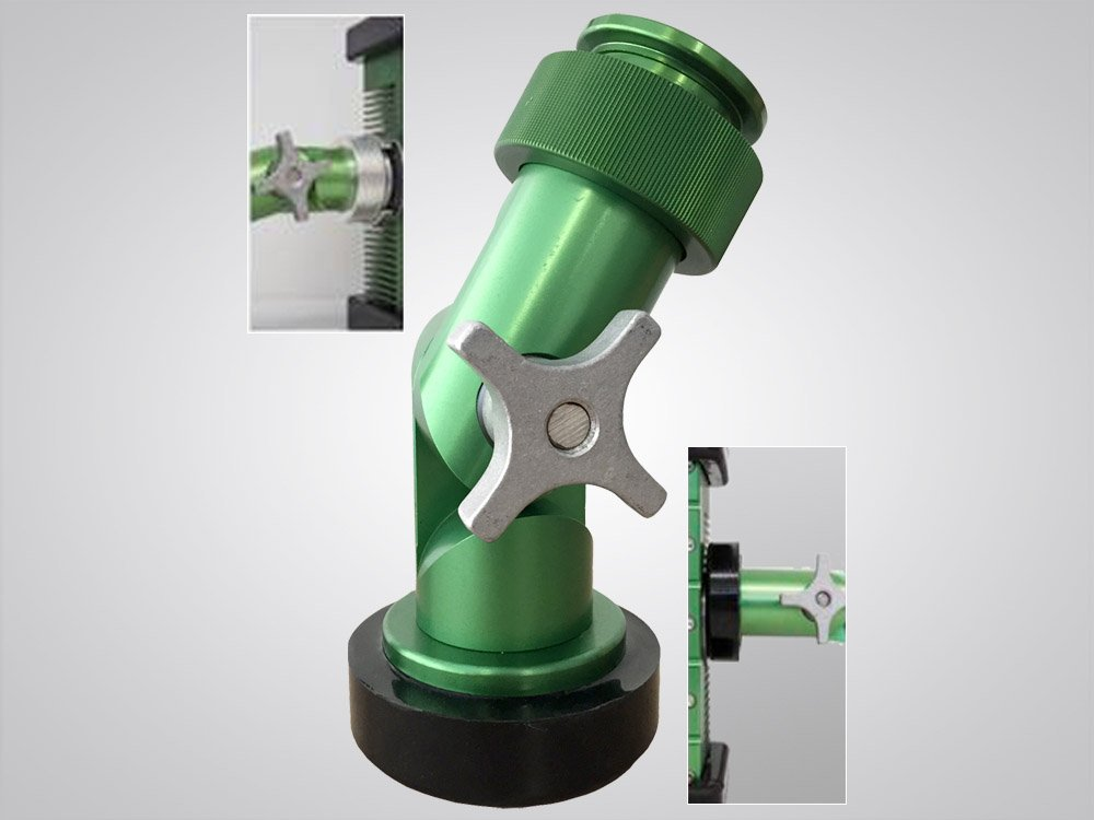 magnetic, mechanical, knuckle, mounting, options, BRICK®, 9610, brick, LED, portable explosion proof area light, Western Technology