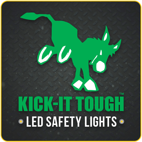 Our Brands, kick-it tough, led safety lights, KICK-IT TOUGH™ LED Safety Lights, KICK-IT TOUGH™ Series, portable explosion proof lights, abrasive blast light, portable led work lights