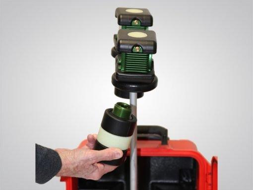 Air-Light® EX, air-light ex, battery-powered explosion-proof arealight, battery, unscrews