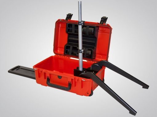 Air-Light® EX, air-light ex, battery-powered explosion-proof arealight, stabilizing legs extended