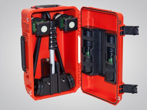 Air-Light® EX, air-light ex, battery-powered explosion-proof arealight, open case