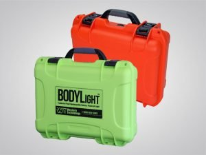 bodylight, uva bodylight, cases, #8910 CASE, orange, lime green