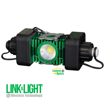 LINKaLIGHT, LINKaLight, link a light, stringer light system, led, portable, work light, ordinary location, temporary job site light, string work light, floodlight, area light, 4400, led wide area stringer light system, stringer light