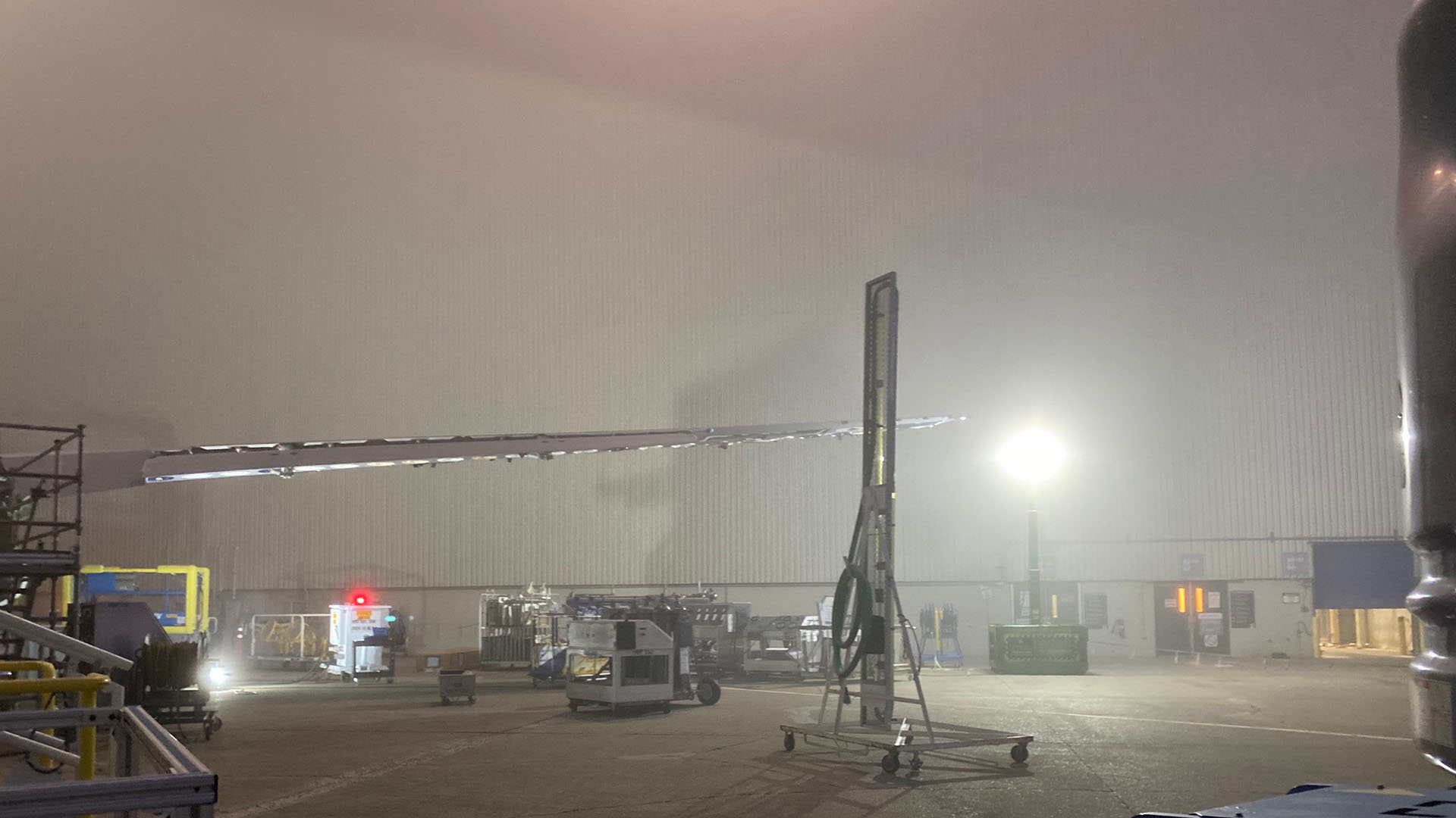 brickskid, brick skid, zero-emissions, explosion proof, portable light tower, flightline, under wing, cdi