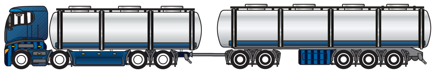 semi, truck, gallons, tanker truck, sanitizing liquid