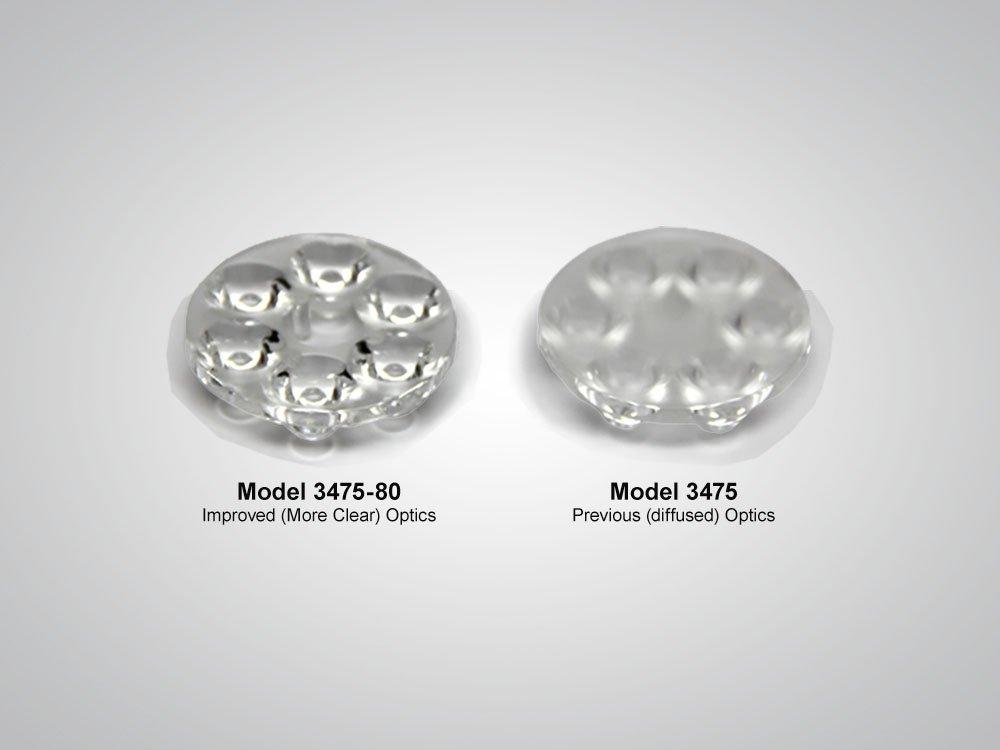 The 3475, Model, 3475-80, optics, improved optics, Gen2, electronics, more clear, LED