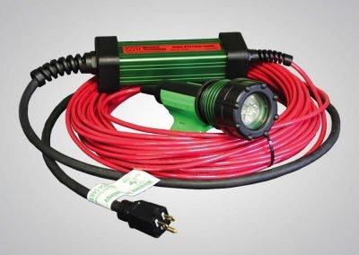 3475, The 3475, 3475-80, Model 3475-80, 6 LED's, LED Blast Light, kick-it tough, LED Safety Lights, abrasive blast lights, Gen2