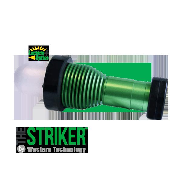 The STRIKER™, the striker, striker, model, 8100, short handle, dome diffuser, portable, explosion proof, led, work light, inspection light