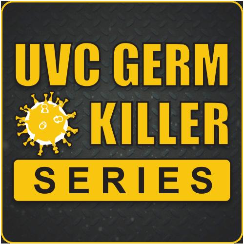 uvc germ killer series, category, product category, ultraviolet germicidal irradiation, uvgi