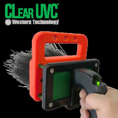 8800, clear uvc, CLear UVC™, handheld unit, germicidal ultraviolet light, tough point, surface cleaning, portable handheld uvc sterilizer
